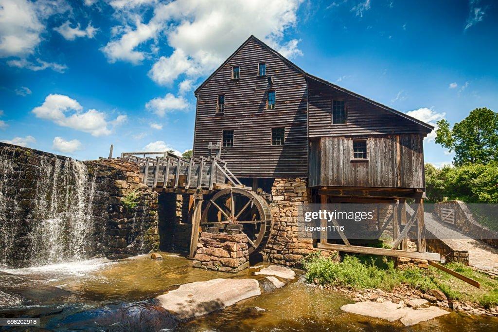 Yates Mill In Raleigh, North Carolina : Stock Photo