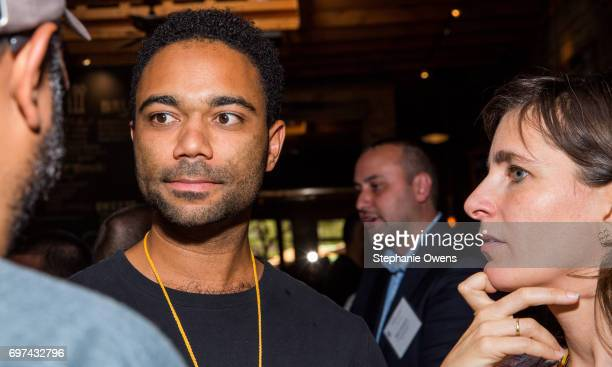 Yatri N Niehaus attends the DGA Reception during 2017 Los Angeles Film Festival at City Tavern on June 16 2017 in Culver City California