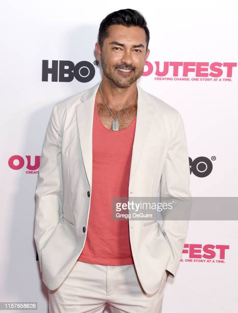Yawar Charlie arrives at the 2019 Outfest Los Angeles LGBTQ Film Festival Screening Of Kathy Griffin A Hell Of A Story at Ford Theatre on July 25...