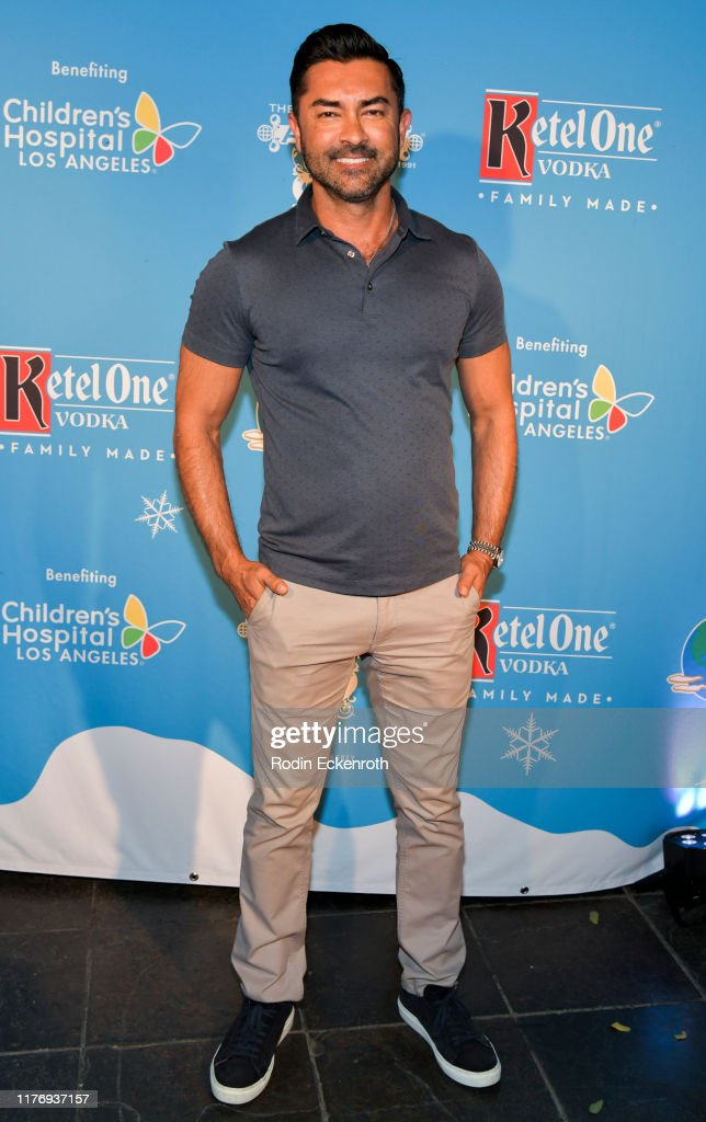 Children's Hospital Of Los Angeles Christmas In September Toy Drive - Arrivals : News Photo