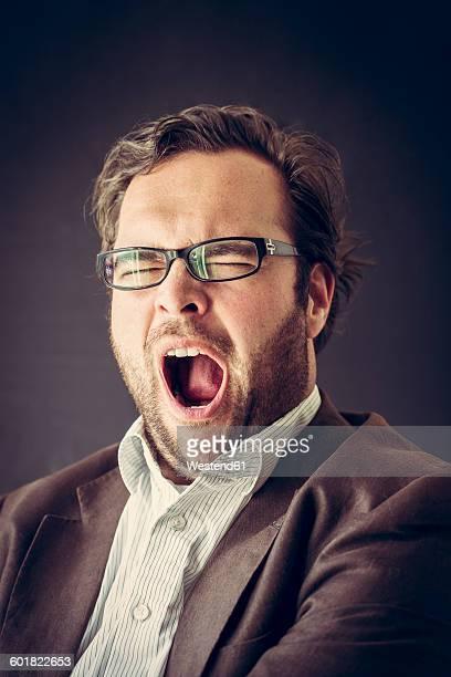 Yawning man