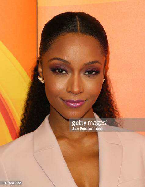Yaya DaCosta attends NBC's Los Angeles MidSeason Press Junket on February 20 2019 in Los Angeles California