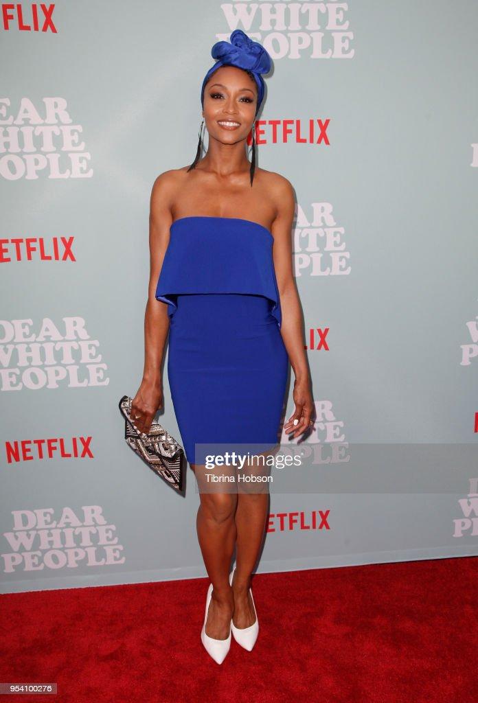 "Screening Of Netflix's ""Dear White People"" Season 2 - Arrivals : News Photo"