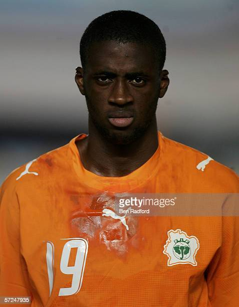 Yaya Gnegneri Toure of Ivory Coast prior toThe African Cup of Nations Quarter Final match between Cameroon v Ivory Coast at The Military Acadamy...