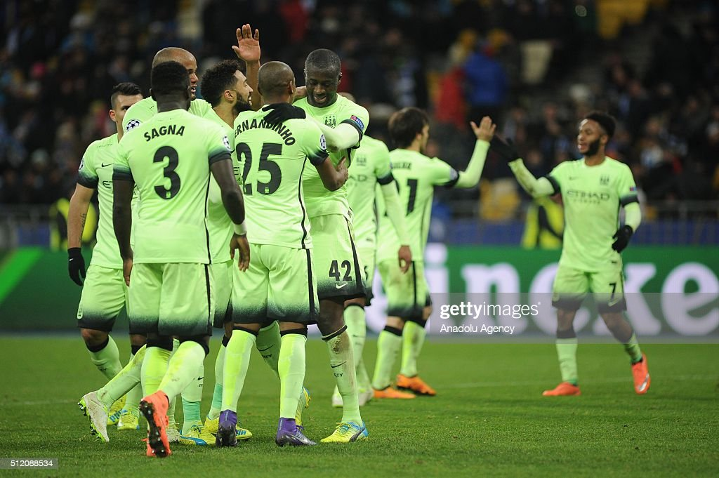 Dynamo Kyiv v Manchester City - UEFA Champions League : News Photo