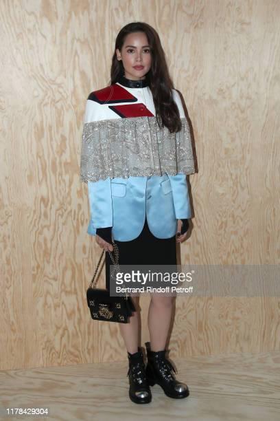 Yaya Urassaya Sperbund attends the Louis Vuitton Womenswear Spring/Summer 2020 show as part of Paris Fashion Week on October 01, 2019 in Paris,...