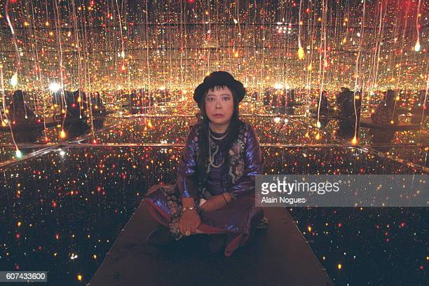 Yayoi Kusama exhibition at 3 Venues in Paris
