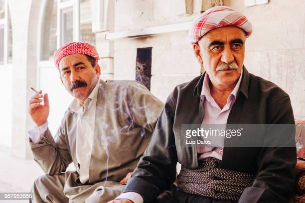 yazidi people in lalish - dafos stock photos and pictures