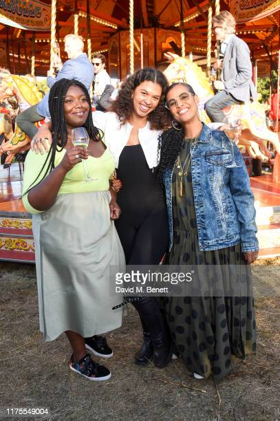 Yazmin Lacey Cosima and Neneh Cherry at Krug Encounters – Rhythm and Ride on September 18 2019 in Sittingbourne England