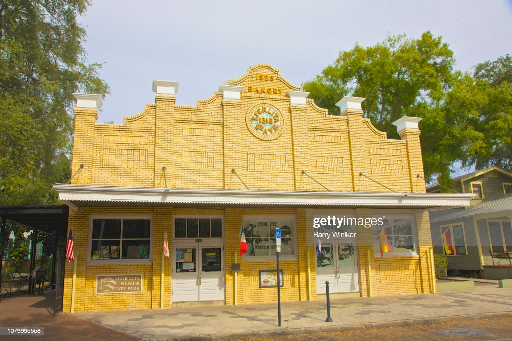 Ybor City Bakery Now Ybor City Museum State Park Tampa Stock