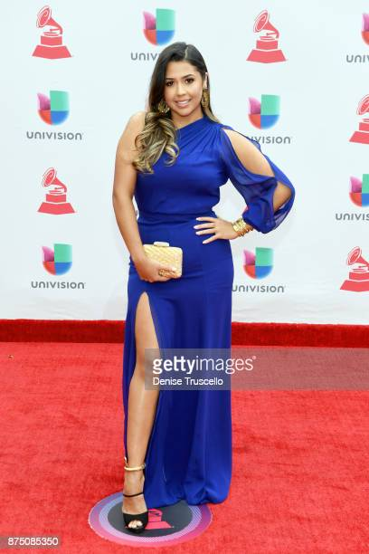 Ydelays attends the 18th Annual Latin Grammy Awards at MGM Grand Garden Arena on November 16 2017 in Las Vegas Nevada