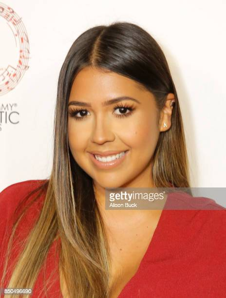 Ydelays attends the Latin GRAMMY Acoustic Session Los Angeles Camila and Melendi at The Novo by Microsoft on September 20 2017 in Los Angeles...