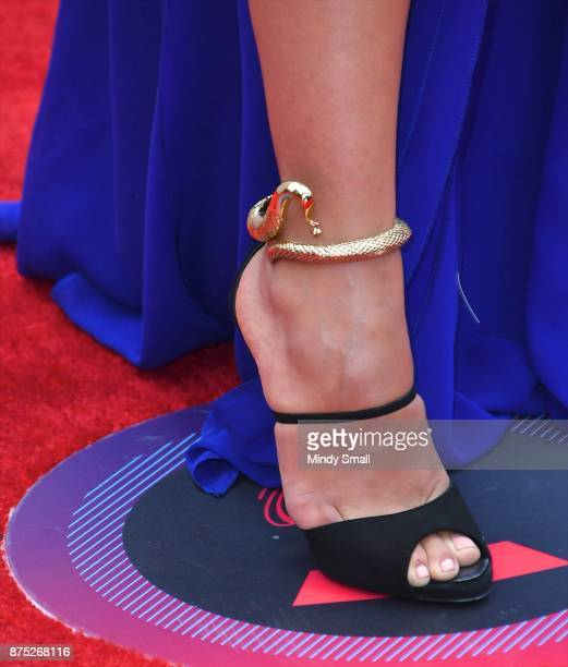 Ydelays shoe detail attends the 18th Annual Latin Grammy Awards at MGM Grand Garden Arena on November 16 2017 in Las Vegas Nevada