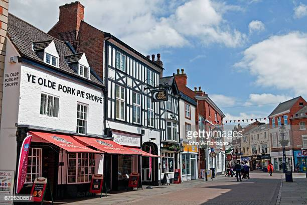 Ye Olde pork pie shoppe, Melton Mowbray. ,UK