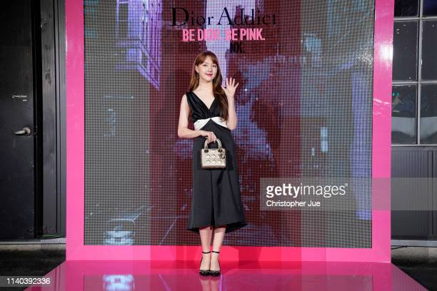 Ye Rin of girl goup Girl Friend aka GFrand attends Dior Addict Stellar Shine launch at Layers 57 on April 04 2019 in Seoul South Korea