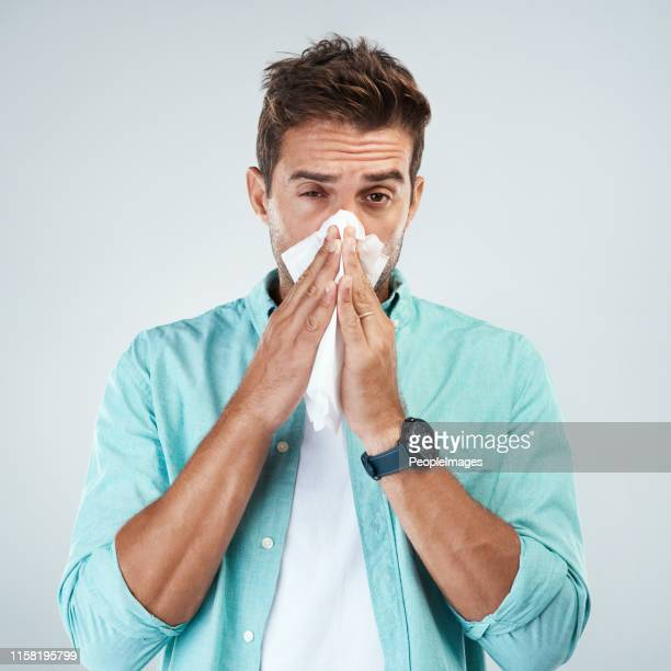 yeah i'm getting sick again - handkerchief stock pictures, royalty-free photos & images