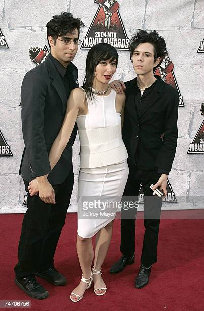 Yeah Yeah Yeahs at the Sony Pictures Studios in Culver City California