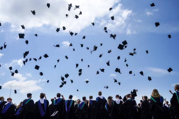 GBR: BBG Academy Year Eleven Pupils Celebrate Their Graduation