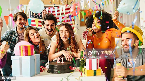21 歳の誕生日パーティー