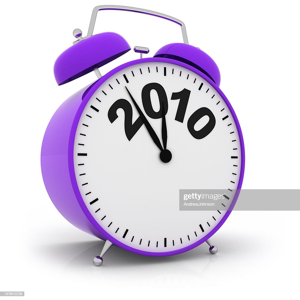 Year End Deadline Alarm Clock : Stock Photo