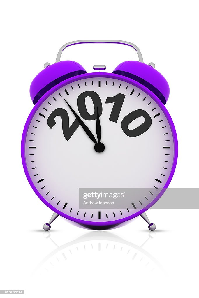 Year End Deadline Alarm Clock : Stockfoto