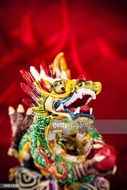 2012. Jahr des chinesischen Drachens.