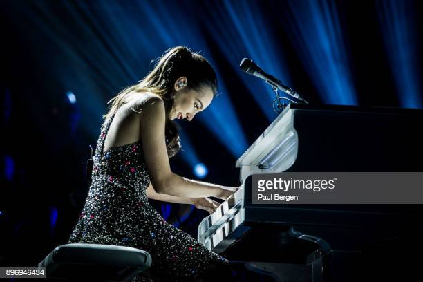 16 year old American piano player Emily Bear performs at Night of the Proms Ahoy Rotterdam Netherlands 18th November 2017