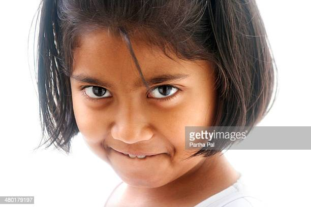 9 year old Bengali Girl,Indian girl,different mood