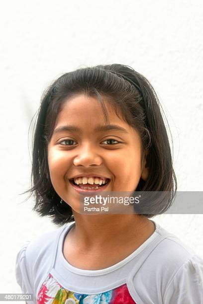 9 year old bengali girl,indian girl,different mood - bengali girl stock photos and pictures