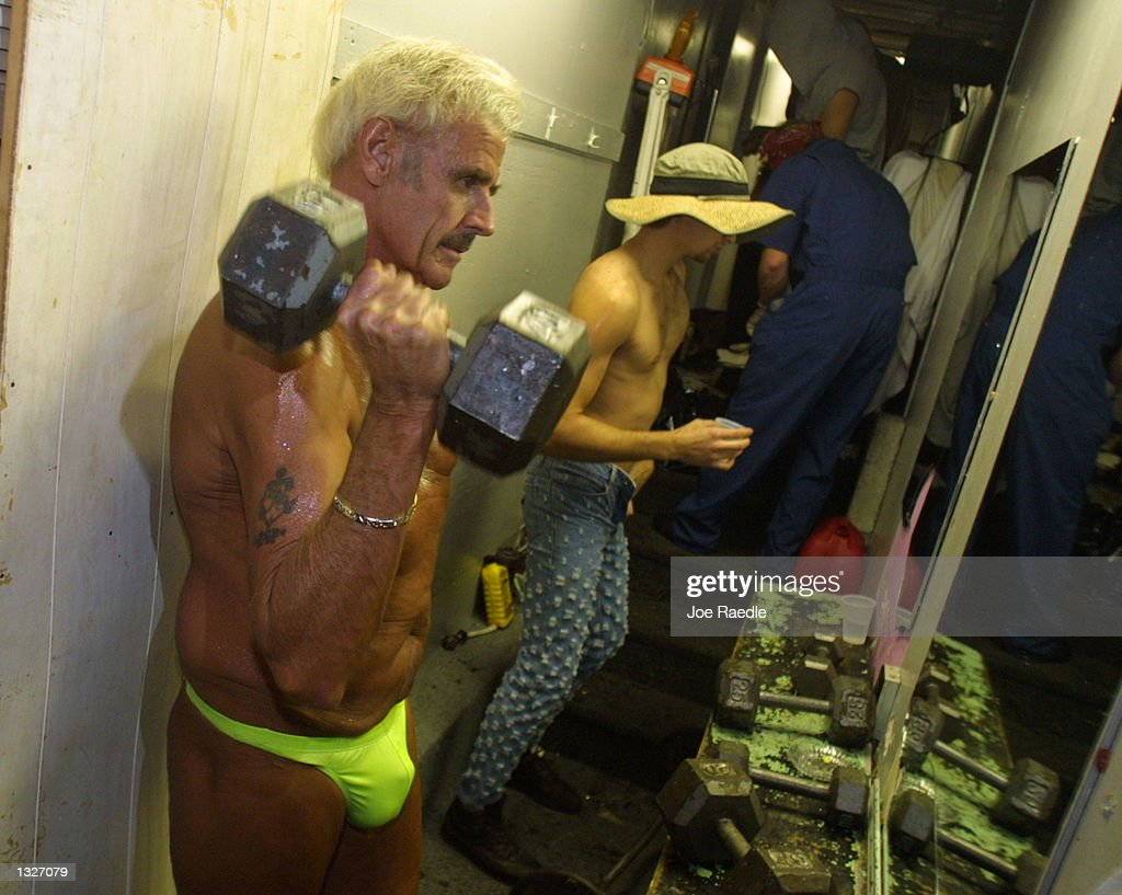 60 Year Old Bernie Barker Lifts Weights As He Prepares