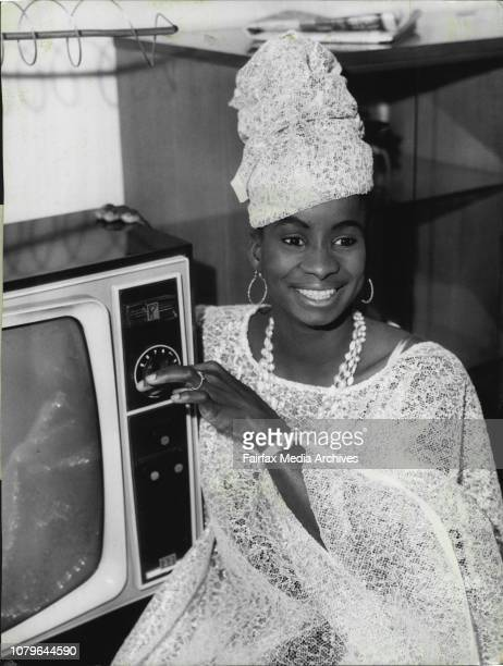 18 year old Bintia Toure decides to watch some Australian televisionSome of the girls from the African Ballet which opens at the Theatre Royal...