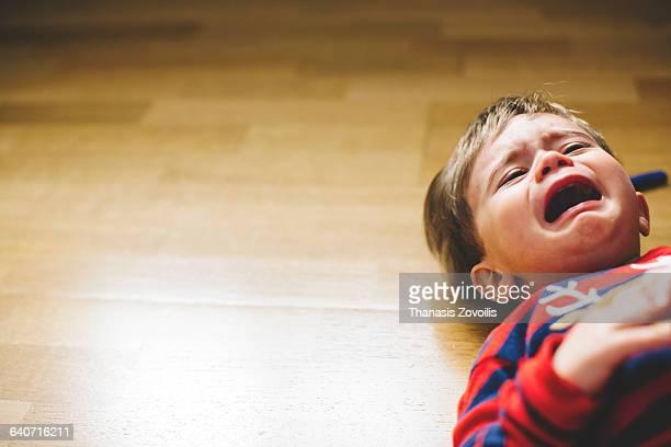 1 year old boy crying