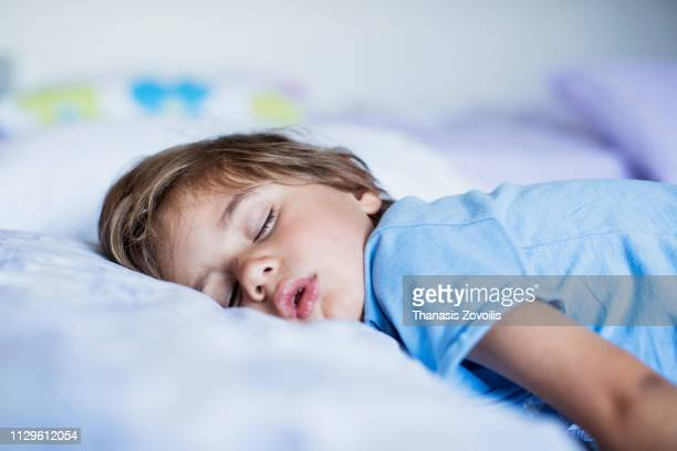 2 year old boy sleeping