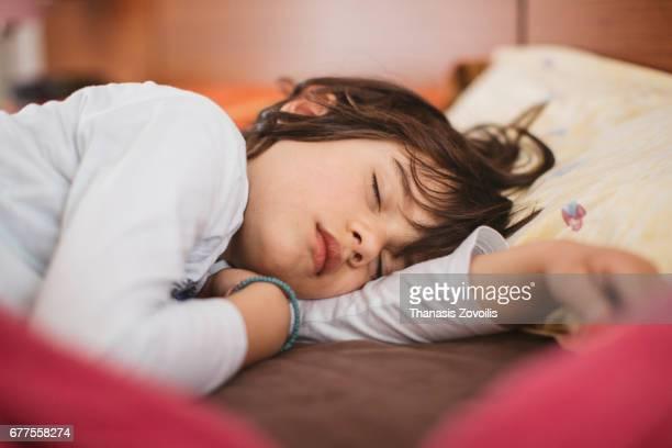 6 year old boy sleeping