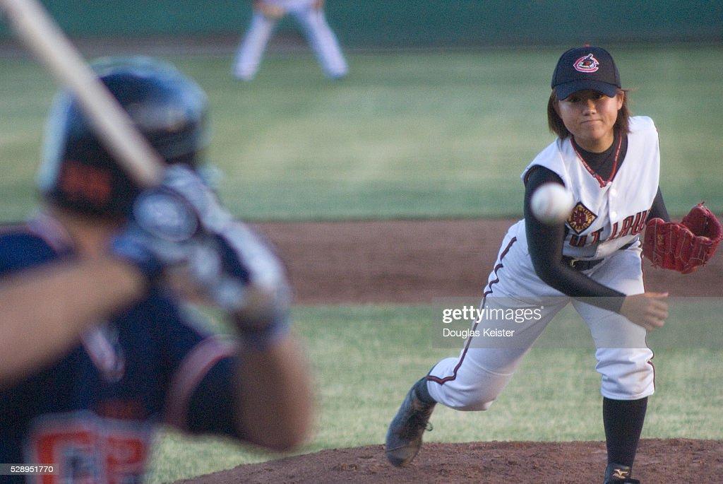 Minor League Baseball - Eri Yoshida : ニュース写真