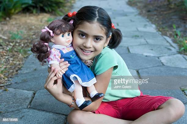 8 Year Old Hispanic Girl