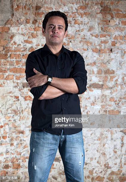 44 year old Hispanic man portrait.