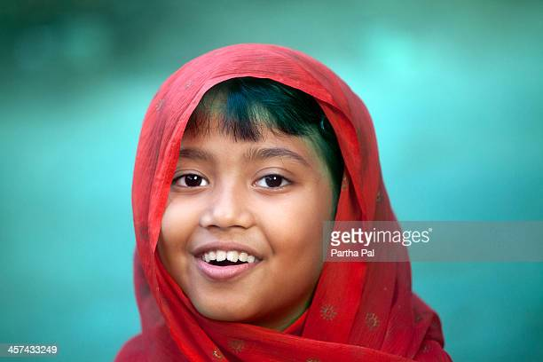 ( year old Indian Girl in different moods