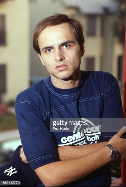 29 year old Joe Pantoliano after roller skating in Hollywood poses for a portrait June 12 Hollywood California