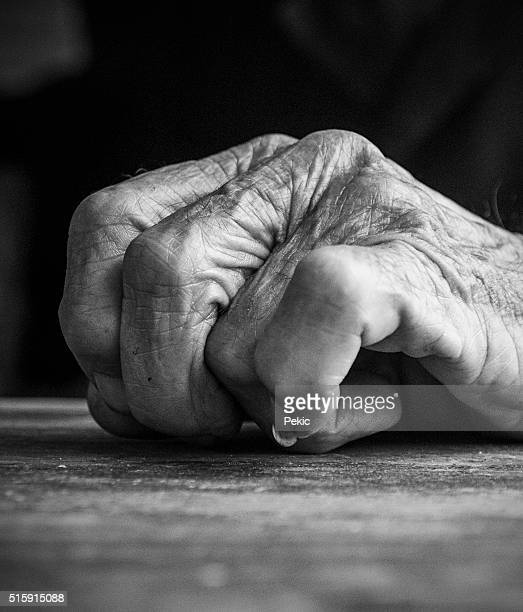 90 Year Old Man Hand