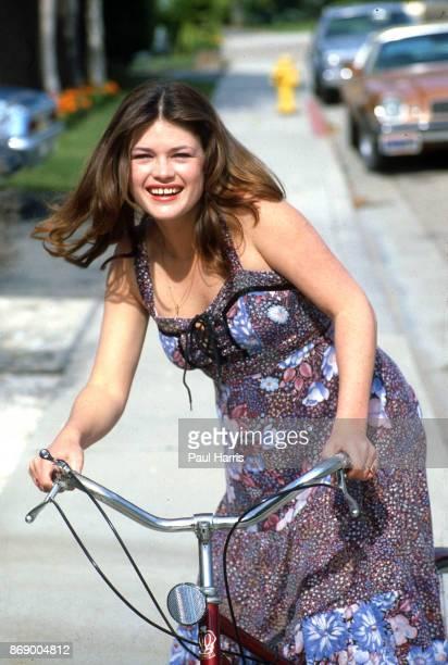 15 year old Mariska Hargitay poses for a portrait on September 12 1979 in Oxnard California