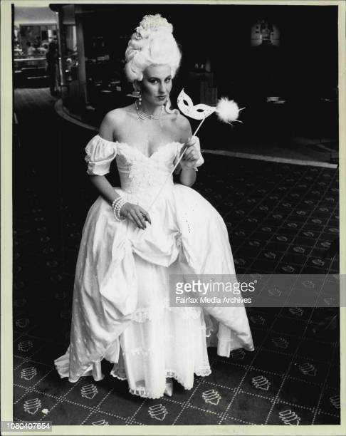 17 year old Melanie Swindells modelling the Amdeus wedding dress cityThis is the wedding dress a Sydney bride craved after falling love with the...