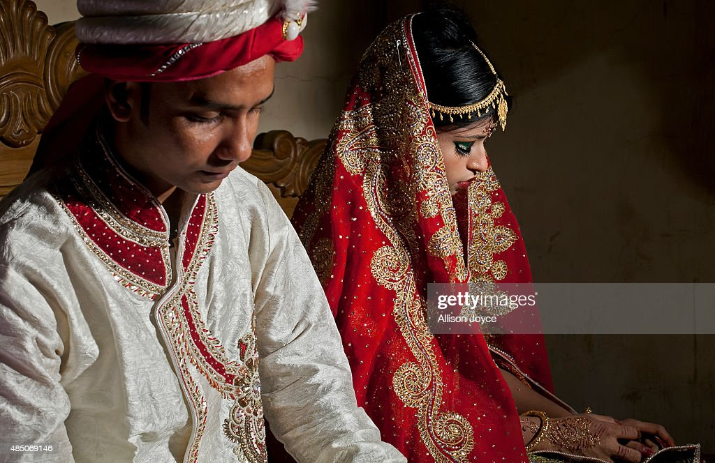 Child Marriage In Bangladesh : News Photo