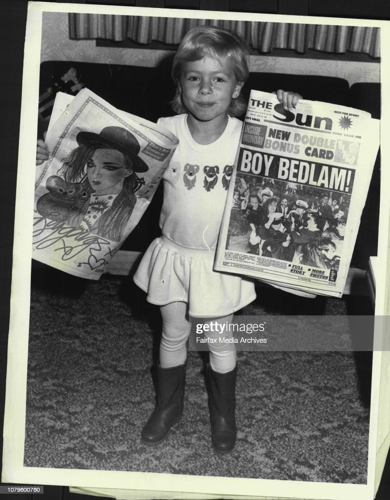 4 Year old Nicole Woodbine, was one of the lucky