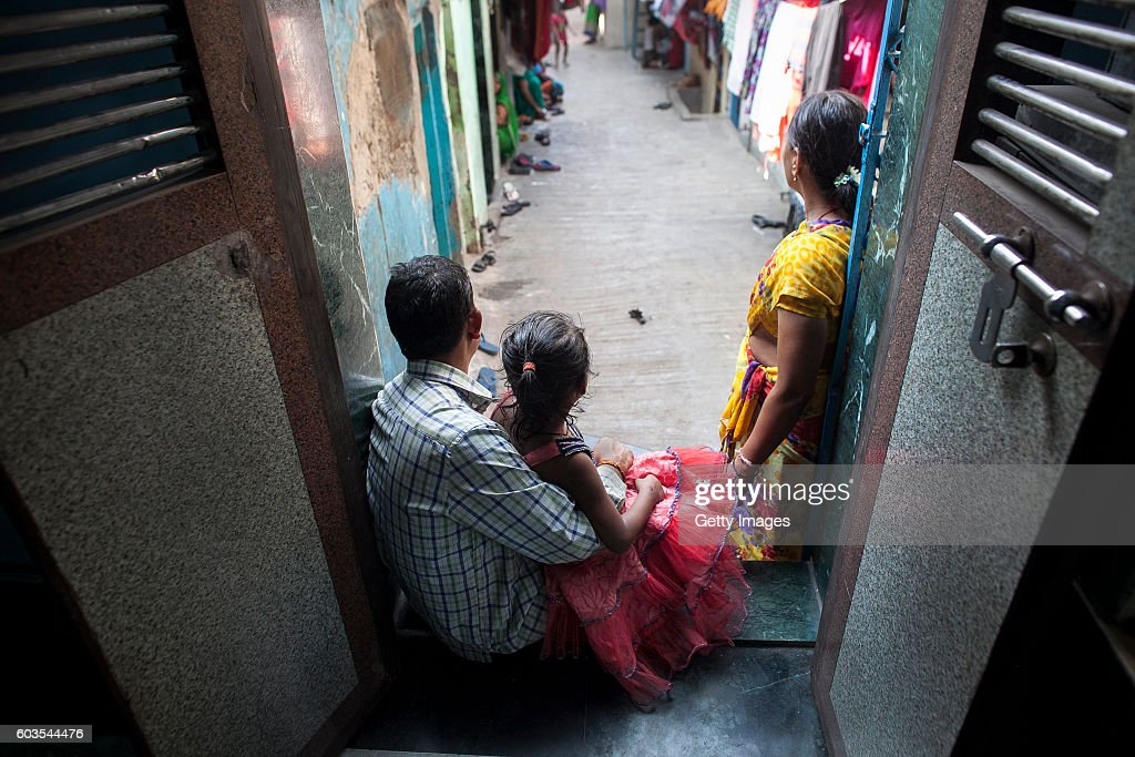 5 Year Old Nirmala , Who Was Raped By Her Mothers Boss, Poses For A News Photo -3055