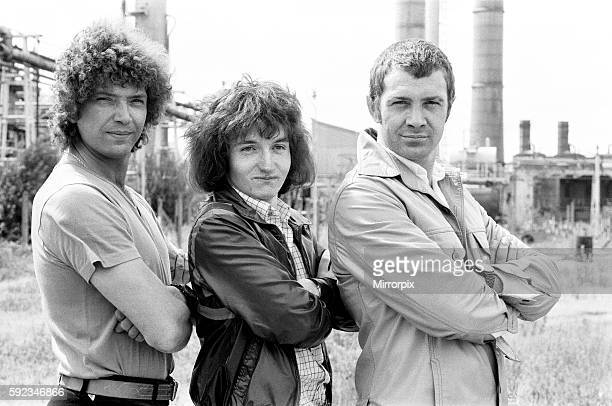 18 year old script writer Stephen Lister meets the stars of The Professionals Martin Shaw and Lewis Collins 16th August 1979 Stephen submitted a...