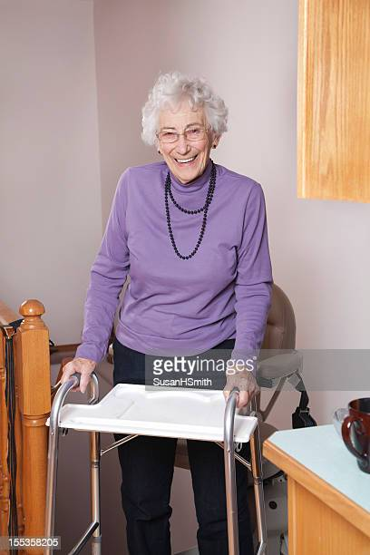 90 Year Old With Walker and Stair Lift: Assisted Living