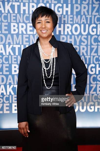 Year Starship CEO Mae C Jemison attends the 2017 Breakthrough Prize at NASA Ames Research Center on December 4 2016 in Mountain View California