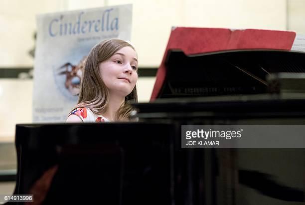 11 yearold Alma Deutscher performs in The Wiener Musikverein in Vienna on October 6 2016 The British 11yearold's opera 'Cinderella' will premiere in...