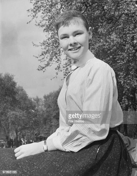 20 yearold English actress Judi Dench 8th May 1957 She is shortly to play the Virgin Mary in a production of the York Mystery Plays her first...